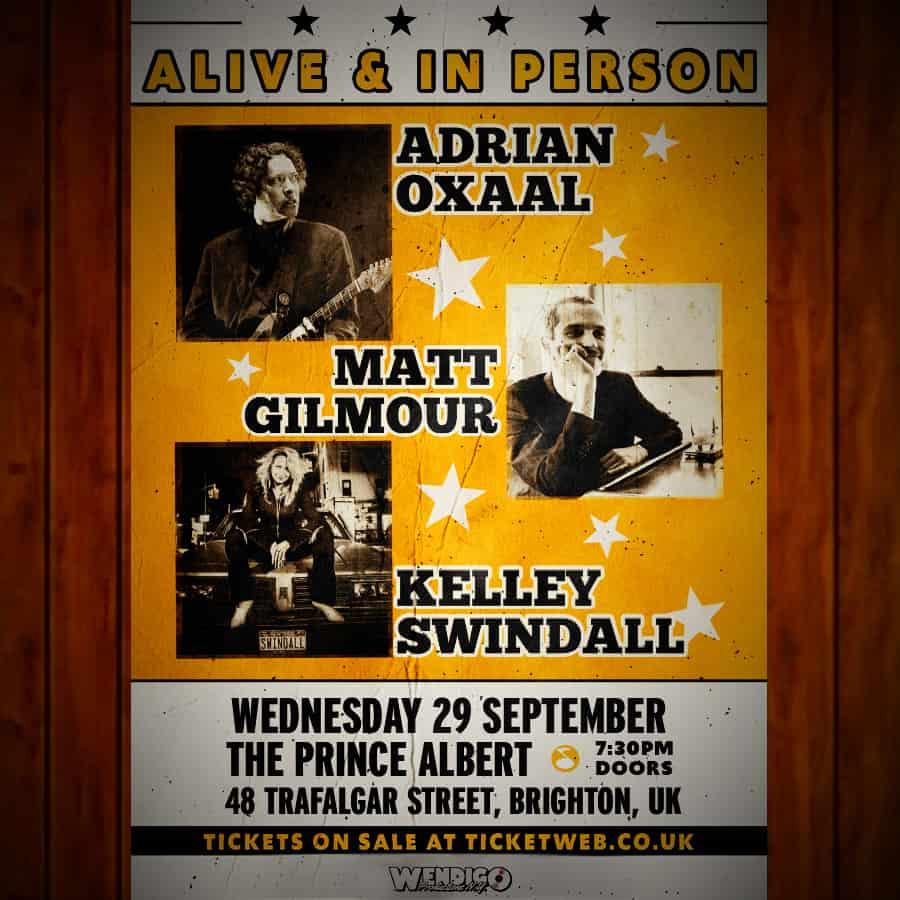 Adrian Oxaal, Matt Gilmour, Kelley Swindall