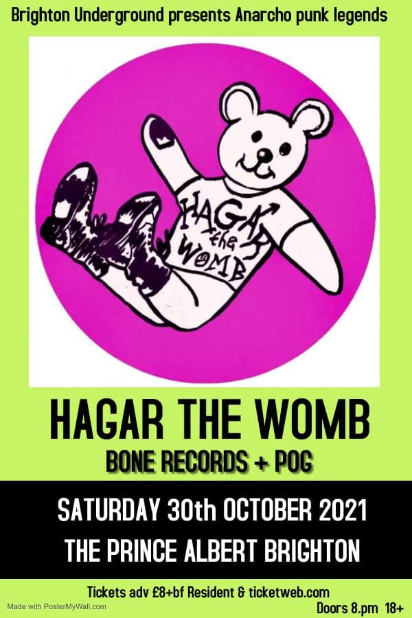 Hagar The Womb, Bone Records , Pog